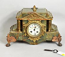 Continental Marble Mantle Clock