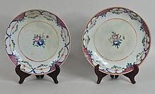 Pair Similar Chinese Export Deep Dishes