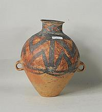 Chinese Neolithic Painted Earthenware Vessel