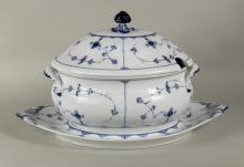 Royal Copenhagen Porcelain Tureen & Underplate