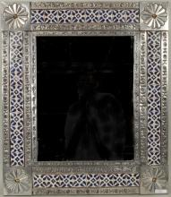 Mexican Tin & Tile Mirror
