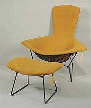 Vintage Harry Bertoia For Knoll Yellow Bird Chair
