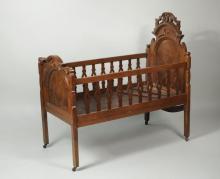 Eastlake Style Victorian Crib