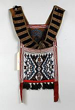 Chippewa Beaded Bandolier Bag