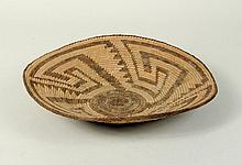 Apache Geometric Patterned Basket