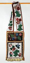 Menominee Beaded Bandolier Bag