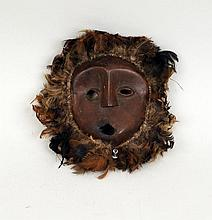Eskimo Carved Wood Mask
