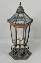 Copper, Brass & Metal Freestanding Lantern