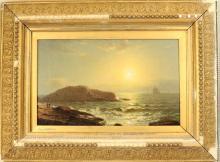 W.R. Wheeler New England Seascape, Signed
