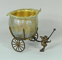 Iridescent Art Glass Bowl
