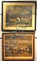 After Munnings, Two Framed Equestrian Prints
