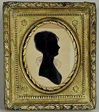 Framed Silhouette, 19th C.
