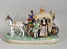 Continental Porcelain Coach Group