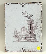 Delft Manganese Tile