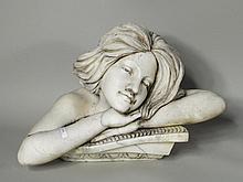 Garden Ornament of Reclining Woman