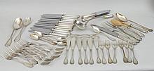 Italian .800 Silver Partial Dinner Service