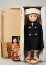 Vintage Shirley Temple Doll w/Asian Doll