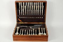 Durgin Partial Sterling Silver Flatware Service