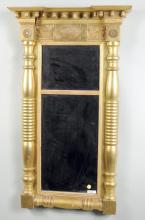 American Classical Gilded Tabernacle Mirror