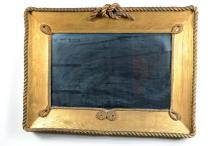Oak & Braided Rope Nautical Interest Mirror