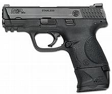 SMITH AND WESSON M&P40 COMPACT W/ X GRIP 40 SW MFG MDL #: 150955