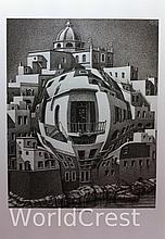 Balcony by M. C. Escher