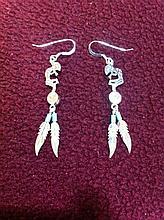 Kokopelli Sterling Silver Earrings