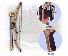 GrizzlyTM intermediate youth archery set