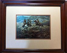 Western scene, by Joe Radar Roberts