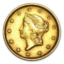 One $1 Liberty Head Gold Type 1 AU (Random Years) - WJA23230
