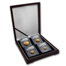 One 2006 Great Britain 4-Coin Gold Sovereign Deluxe Set PR-69 PCGS  - WJA64300
