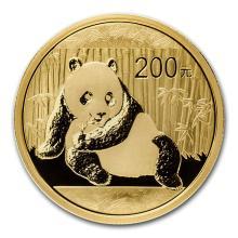 One 2015 China 1/2 oz Gold Panda BU (Sealed) - WJA84908
