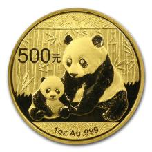 One 2012 China 1 oz Gold Panda BU (Sealed) - WJA65582