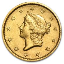 One $1 Liberty Head Gold Type 1 XF (Random Years) - WJA4027