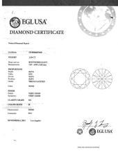 EGL Certified (H-SI1) 1.50ct Round Brilliant Loose Diamond - ID#10-5874