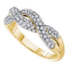14K Yellow Gold Jewelry 0.50 ctw Diamond Ladies Ring - ID#L48N1-WGD39899