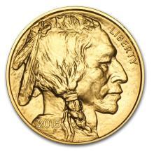 One 2015 1 oz Gold Buffalo BU - WJA84912