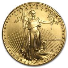 One 1988 1 oz Gold American Eagle BU - WJA7439