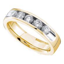 14K Yellow Gold Jewelry 0.78 ctw Diamond Ladies Ring - ID#A96K2-WGD40838