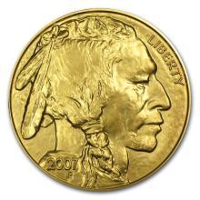 One 2007 1 oz Gold Buffalo BU - WJA22408