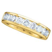 14K Yellow Gold Jewelry 0.25 ctw Diamond Ladies Ring - ID#J26X4-WGD30401