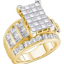 14K Yellow Gold Jewelry 0.75 ctw Diamond Ladies Ring - ID#W57P6-WGD51596