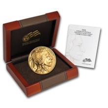 One 2008-W 1/2 oz Gold Buffalo BU (w/Box & COA) - WJA58859