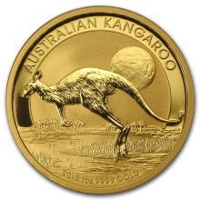 One 2015 Australia 1 oz Gold Kangaroo BU - WJA84461