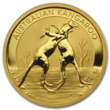 One 2010 Australia 1 oz Gold Kangaroo BU - WJA54827