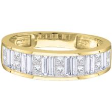 14K Yellow Gold Jewelry 0.25 ctw Diamond Ladies Ring - WGD30444 - REF#N33T7