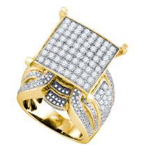 Genuine 3.0 CTW Diamond Ladies Ring 10KT Yellow Gold - GD74415-REF#287A9X