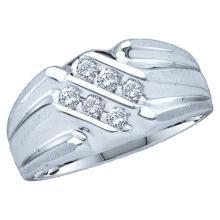 14K Yellow Gold Jewelry 0.25 ctw Diamond Men's Ring - GD#23560
