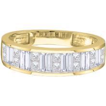 14K Yellow Gold Jewelry 0.50 ctw Diamond Ladies Ring - GD#30492 - REF#Y60H1