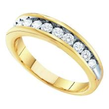 10K Yellow Gold Jewelry 0.50 ctw Diamond Ladies Ring - GD#7645
